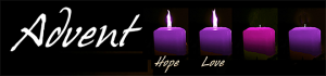 Advent Candles wk2