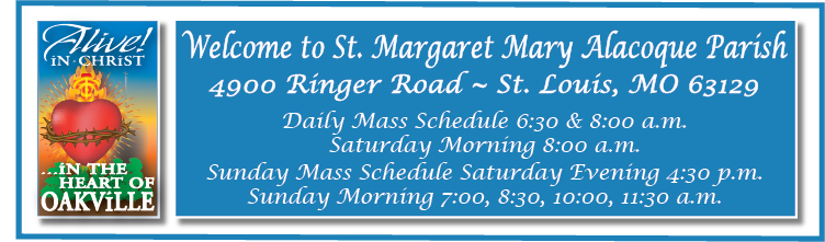 St. Margaret Mary Alacoque Parish Mobile Logo